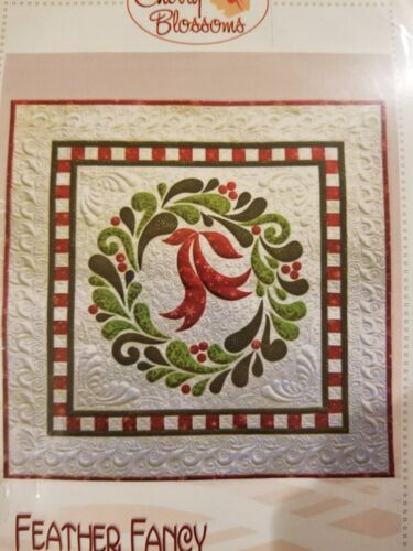 """Feather Fancy"" Quilting Kit by Cherry Blossoms 28"" x 28"""