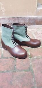 Details about German DAK Low Boots