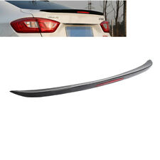 Painted Black For Chevrolet Cruze 17 19 Rear Spoiler Wing Trunk Lip Withreflector Fits Cruze