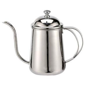 Pour Coffee Drip Pot Teapot Tea Kettle Long Over Gooseneck Stainless Steel Coffee Maker Coffee Pots