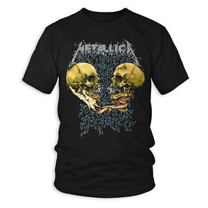 Metallica-Sad-But-True-Black-Album-Rock-Licensed-Tee-T-Shirt-Men