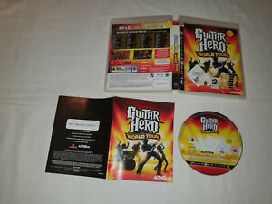 jeu sony playstation 3 ps3 occasion GUITAR HERO WORLD TOUR