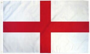 be3a6fca Flag of England 3x5 ft St George's Cross Red White English National ...