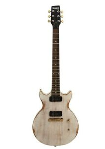 Slick-SL60-WH-4-4-E-Gitarre-Anzahl-der-Saiten-6