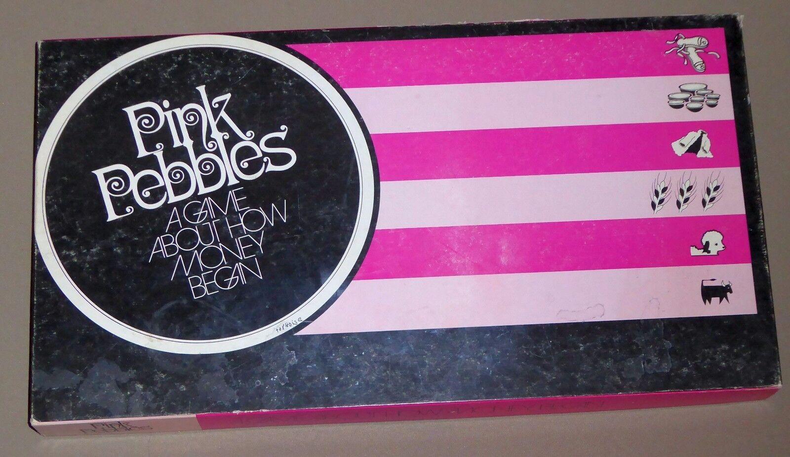 Vintage rosadodo Pebbles Board Game by Education Ventures, 1972, SUPER RARE