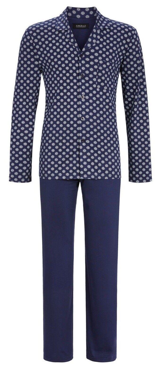 Ringella   ...Pyjama....Schlafanzug.....Baumwolle.+..durchgeknöpft......Größe 60 | Um Um Um Sowohl Die Qualität Der Zähigkeit Und Härte  a257ea