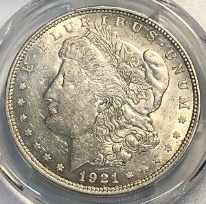 RARE 1921 D Morgan Dollar VAM 9A _RUST PCGS AU 53