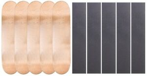 5-PK-Cal-7-Maple-Skateboard-Deck-Multi-Color-7-75-034-8-034-8-25-034-8-5-034-with-Grip-Tape