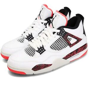 quality design ff055 8286d Image is loading Nike-Air-Jordan-4-Retro-IV-Bright-Crimson-