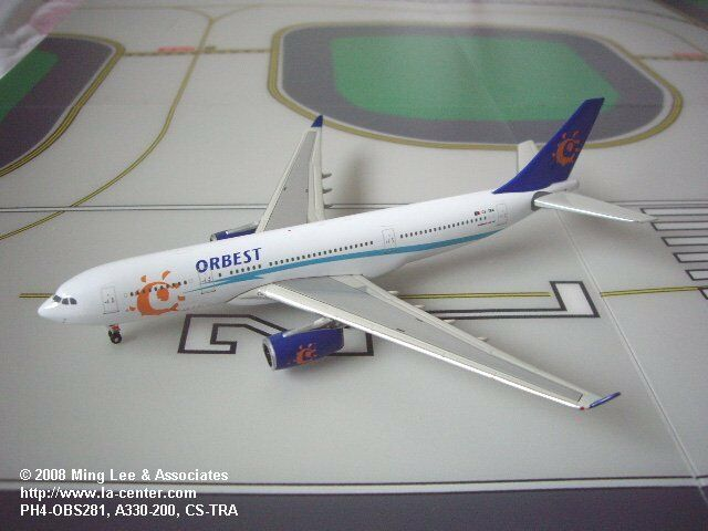 Phoenix Model OrBeste Airlines Airbus Airbus Airbus A330-200 Old color Diecast Model 1 400 b1d4d4