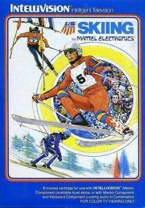 Intellivision-juego-skiing-modulo-con-Inst