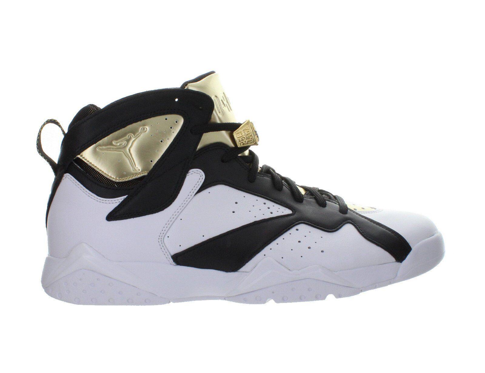 Mens Air Jordan 7 VII Retro C&C Championship Champagne White gold 725093-140