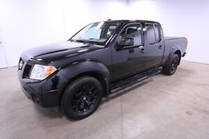 2018 Nissan Frontier 4WD CREWCAB MIDNIGHT Accident Free,  Heated Seats,