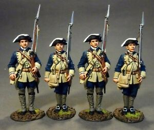 John Jenkins RRBSC-02N Four Line Infantry at Attention, Set #1, South Carolina P