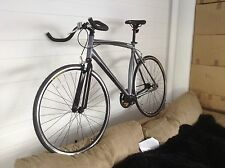 ALLOY FIXED GEAR AND SINGLE SPEED -FIXIE ROAD BIKE -9 KG ONLY- MUSCLE GREY-56CM