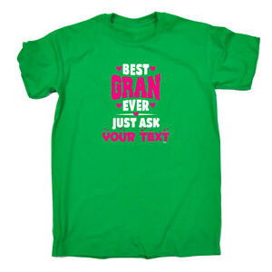 Funny-Novelty-T-Shirt-Mens-tee-TShirt-Best-Gran-Ever-Just-Ask-Your-Text