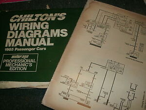 image is loading 1985-buick-riviera-wiring-diagrams -schematics-manual-sheets-