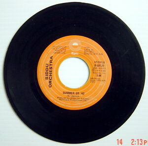 1975-039-S-45-R-P-M-RECORD-BIDDU-ORCHESTRA-SUMMER-OF-039-42-NORTHERN-DANCER