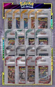 Boosters-Duo-Packs-Tri-Packs-Pokemon-Neufs-au-Choix