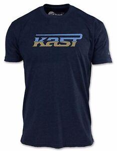 Kast Extreme Fishing Gear  Indigo Blue T-Shirt Size Large NWT