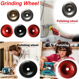 100mm Carbide Wood Sanding Carving Shaping Disc For Angle Grinder//Grinding Wheel