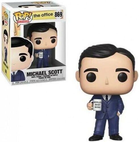 The Office MICHAEL SCOTT #869 Pop Vinyl Figure NEW /& IN STOCK NOW Funko Pop