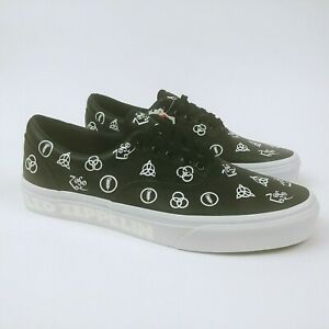 5b5ffcf39d7 Vans x Led Zeppelin Era Limited Edition Leather sneakers Size 9 Mens ...