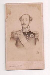 Vintage-CDV-Prince-Ferdinand-Philippe-Duke-of-Orleans-Jacotin-Photo