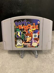 Banjo-Kazooie-N64-Nintendo-64-1998-Tested-Working-Authentic