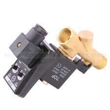 """AC220V 1/2"""" Automatic Electronic Timed Air Compressed Drain Valve for Dryers"""