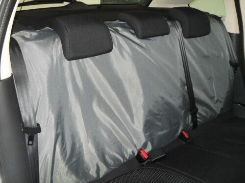 i SEMI FIT A SEAT LEON CAR DELUXE WATERPROOF GREY FULL SET SEAT COVERS