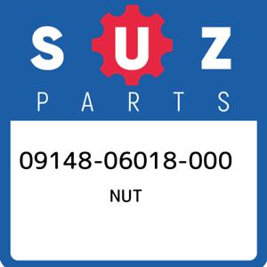 09148-06018-000-Suzuki-Nut-0914806018000-New-Genuine-OEM-Part