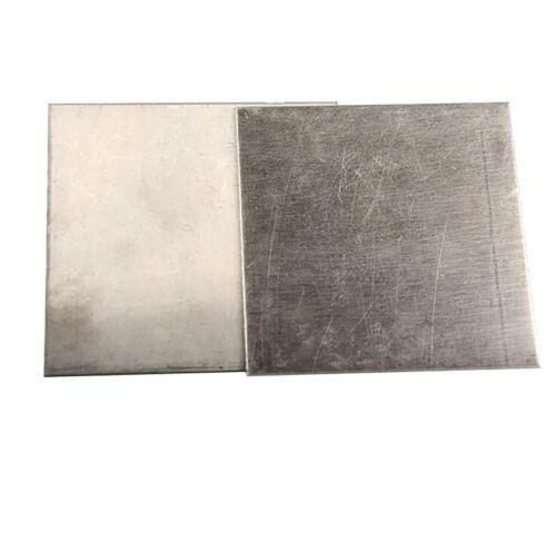 Hochrein Nickel Blech Platte Dick 1//2//3mm Ni Metall Platten Galvanisieren//Anode
