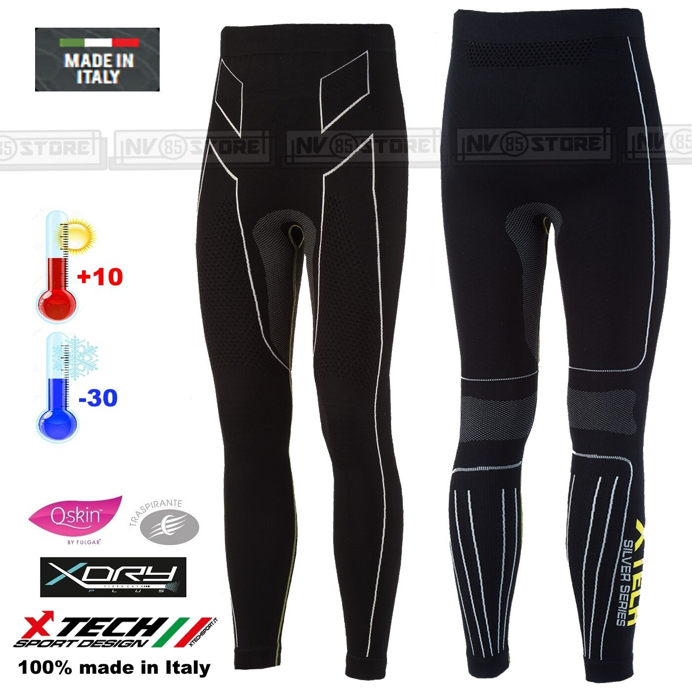 Pantalone XTECH Intimo Termico X-TECH PREMIUM -30° Thermal Pants Made in
