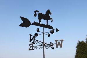 Weathervanes-Steel-Horse-Weathervane