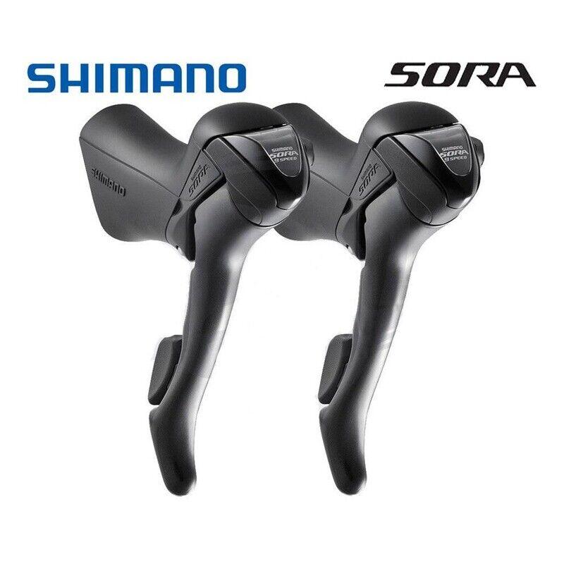 SHIMANO SORA ST-3500 3x9 39 Speed STI Road Bike Shifters Gear Levers