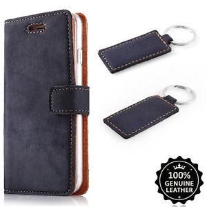 Uhren & Schmuck Farbe Blau Premium Echtes Ledertasche Schutzhülle Tpu Wallet Flip Case Nubuk