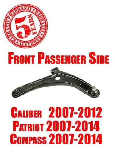 Front Right Lower Control Arm for Dodge Caliber 07-12 Jeep Compass Patriot 07-16