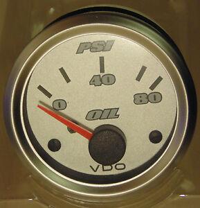 VDO-Titanium-52mm-Oil-Pressure-Gauge-for-4WD-Nissan-Toyota-Mitsubishi-BMW-Subaru