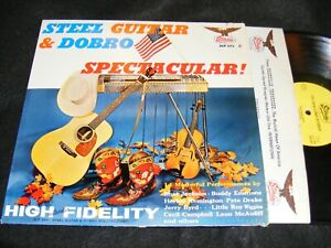 STARDAY-Records-1960s-STEEL-GUITAR-And-DOBRO-Spectacular-Sampler-LP-Jerry-Byrd
