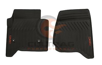 2015-2019 GMC Yukon Genuine GM Front All Weather Floor Mats Cocoa 23452755