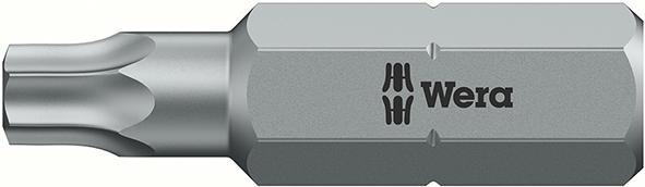 "Bit 1/4"" DIN3126 C6,3 T25x25mm Bohrung Wera E/D/E Logistik-Cente"