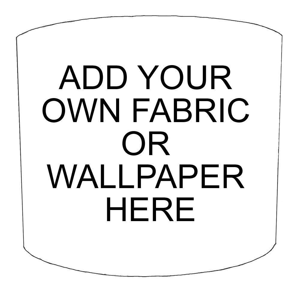 Impresionante Bespoke británico personalizado hecho pantalla con su propio papel Tela tapiz O Tela papel 648e11