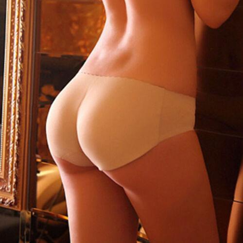 Fashion Women/'S Padded Low-Waist Seamless Enhancer Shaper Panties Underwear