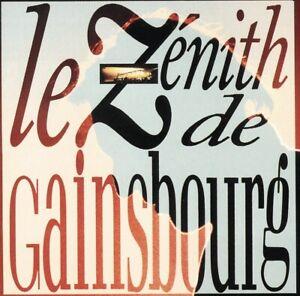 Le Zenith De Gainsbourg   Cd Album   Etat Tres Bon