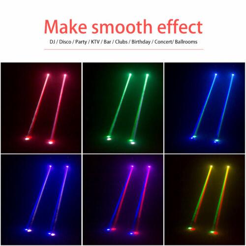 2x RGBW Bühnenlicht Moving Head 50W DMX LED Beam Spot Bühnenbeleuchtung DJ Disco
