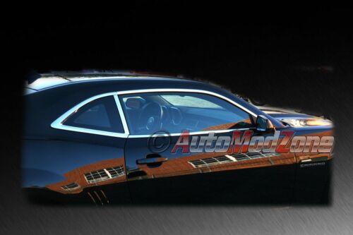 10-13 Chevy Camaro Custom Chrome Window Sill Bezel Molding Trim Mold Set