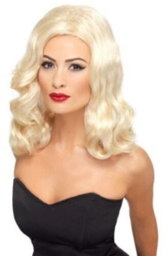 Blonde One Size Smiffy/'s 20s Luscious Long Wig