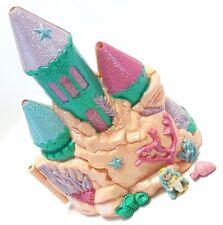 Vtg Polly Pocket Trendmasters Star Castle Sea with MERMAID Glitter Pockets Ariel