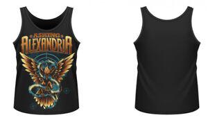 Asking Alexandria T-shirt Freedom Vest Official Merchandise